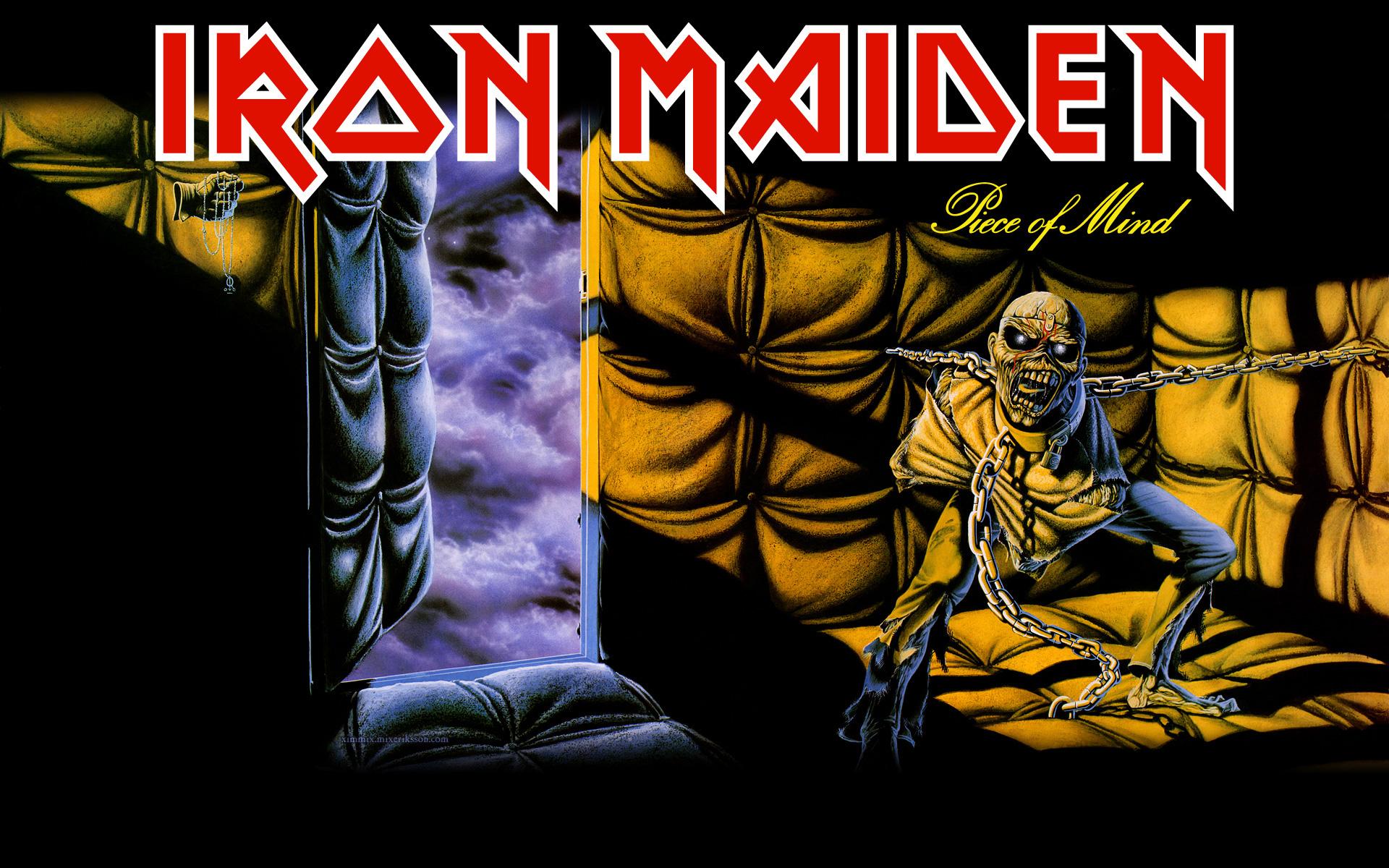 Resultado de imagen para iron maiden piece of mind álbum