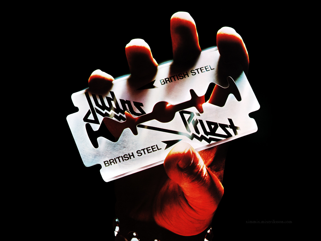 My Favorite Judas Priest Album Cover British Steel – 1980