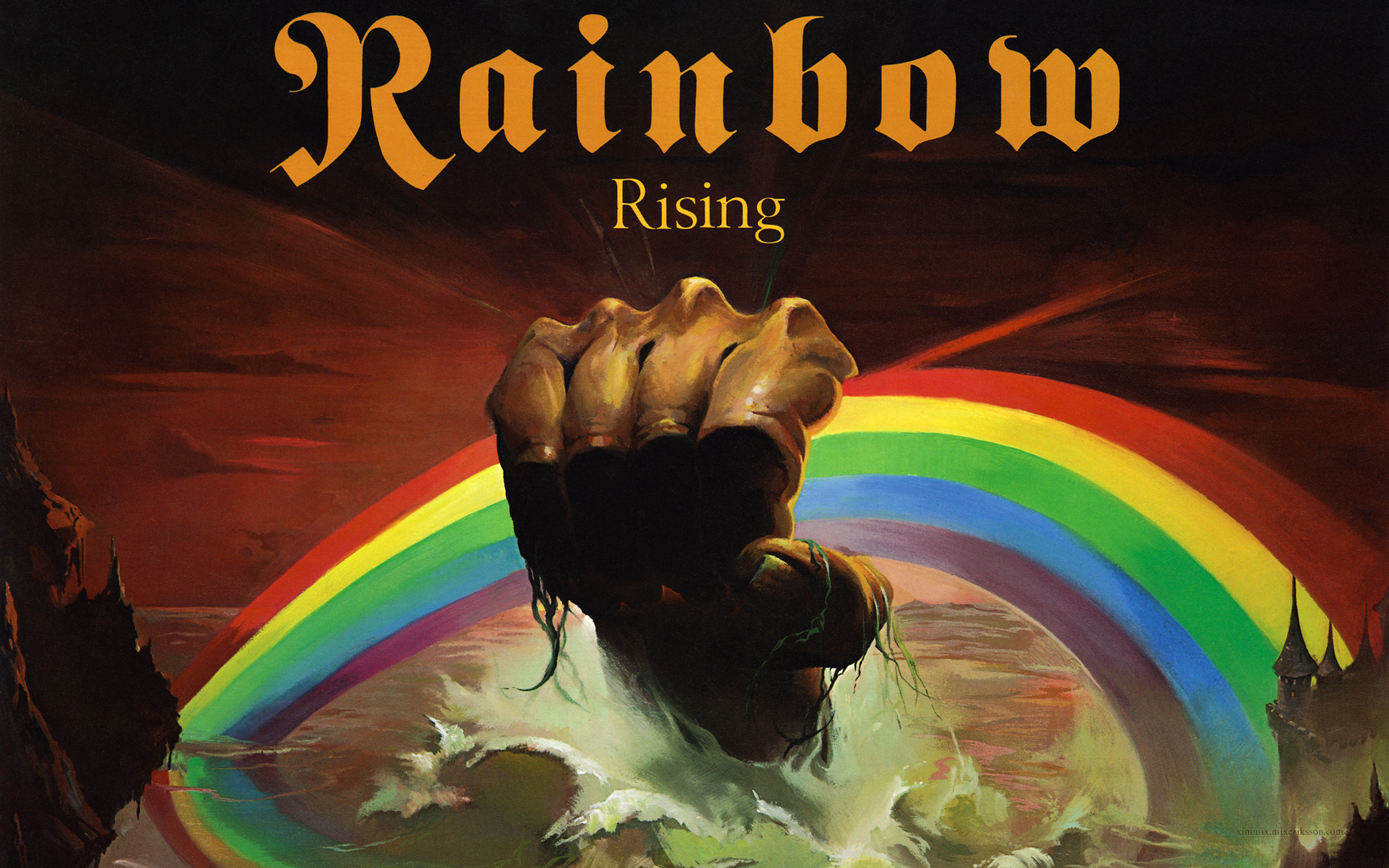 Rainbow Rising Wallpaper - Viewing Gallery